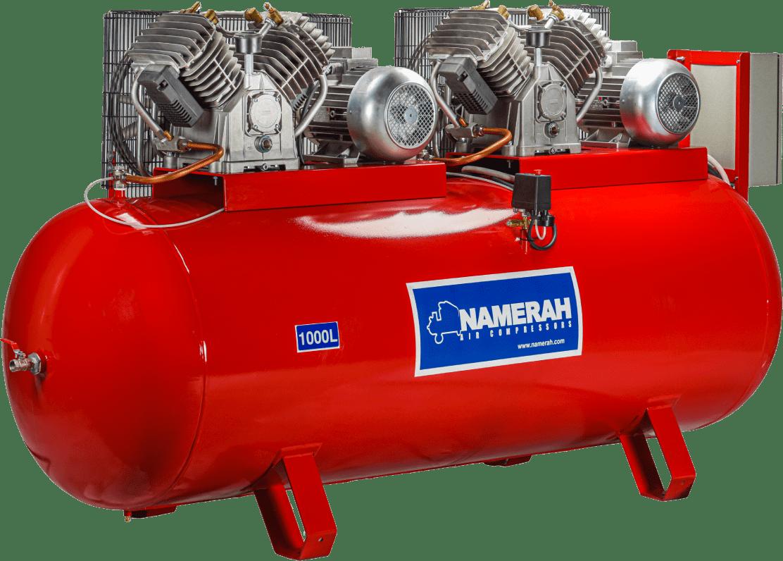 Air compressor 1000 Lit 10HPx2