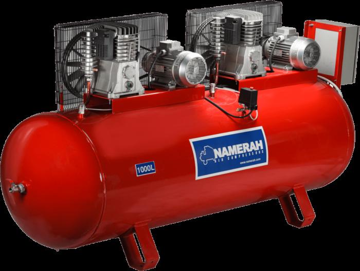 air compressor 1000 lit 7.5HP double